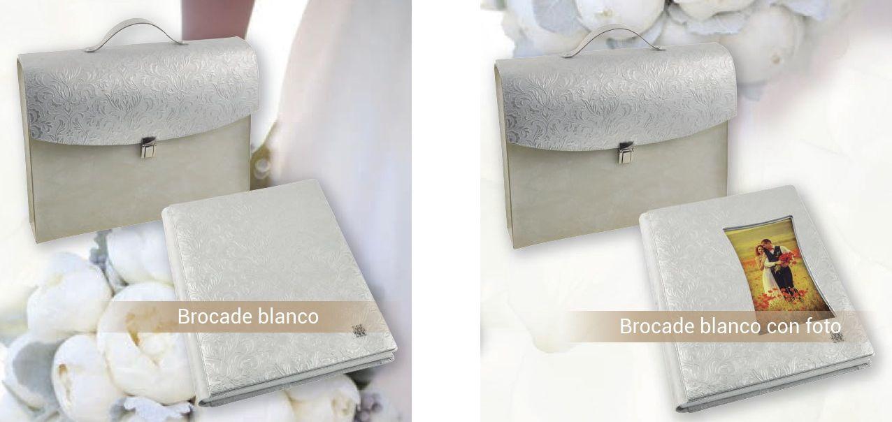 album brocade blanco Chema y Davinci