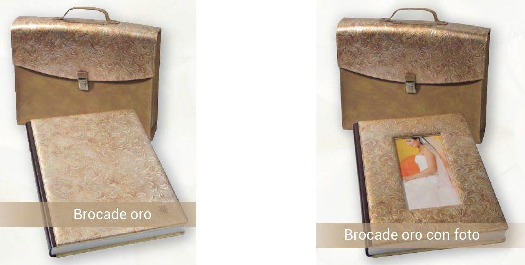 album brocade oro Chema y Davinci