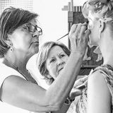 Fotografía de Bodas - Maquillando a la familia del novio Chema & Davinci