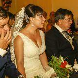 Foto de boda - emocionados durante la ceremonia de boda