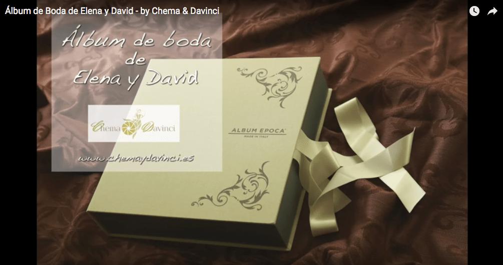 Fotografía de Boda - álbumes de boda - Chema & Davinci