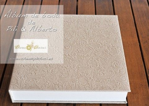Álbum de fotografía de boda - Signature - Chema & Davinci
