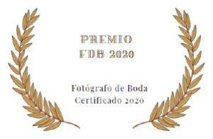 Premio Fotógrafos de Boda Certificados 2020.